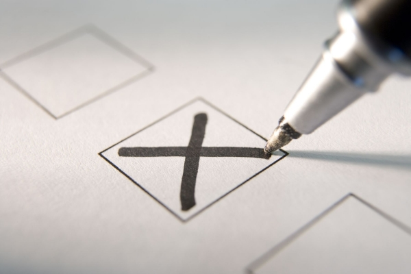 Отмениха избора на селски кмет заради химикалки с изчезващо мастило
