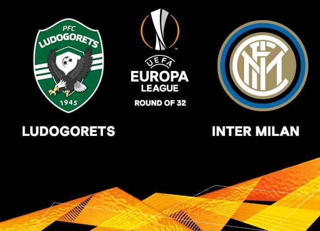 Лудогорец срещу Интер на 1/16 финалите в Лига Европа