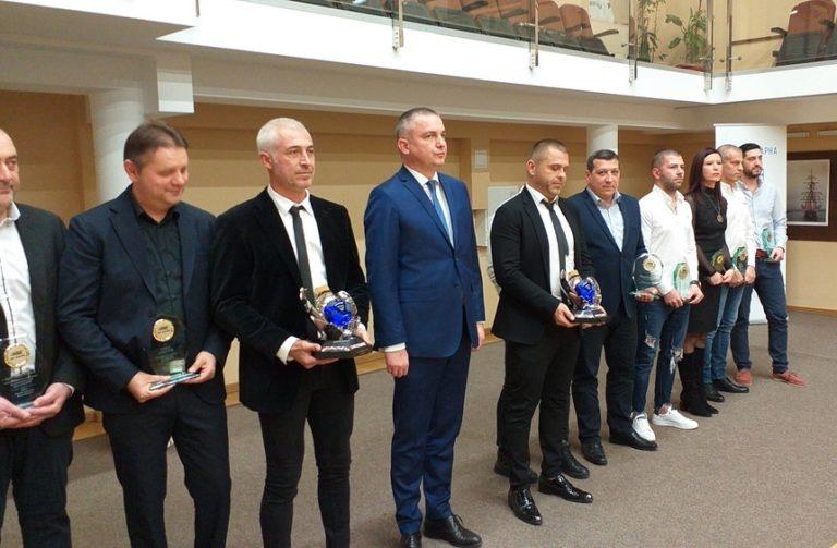 Кметът връчи Балканския трофей на автомобилните шампиони от Варна Йордан Атанасов и Янаки Янакиев