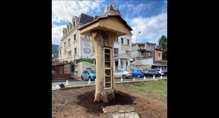 """В Шумен създадоха """"Библиотека в дърво"""""""
