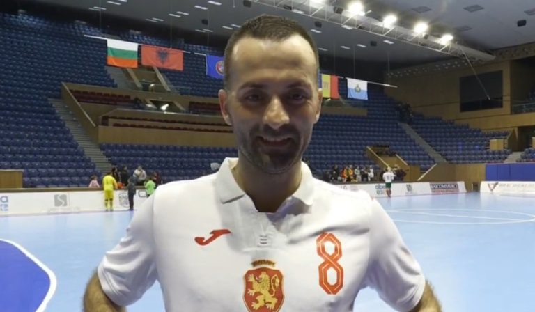 Националите ни по футзал завършиха 1:1 със Сан Марино