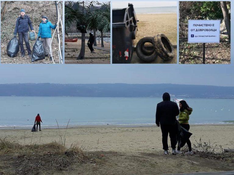 Доброволци изчистиха за шести път варненския плаж