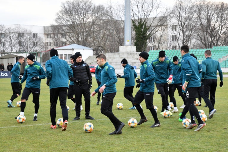 Черно море започна подготовка с 23 футболисти