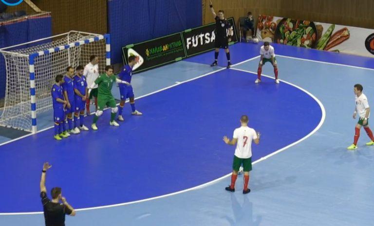 Българските национали по футзал победиха Андора с 2-1 във Варна