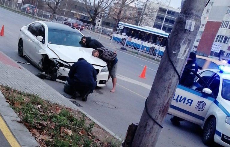 """Истински екшън на новия булевард """"Левски"""""""