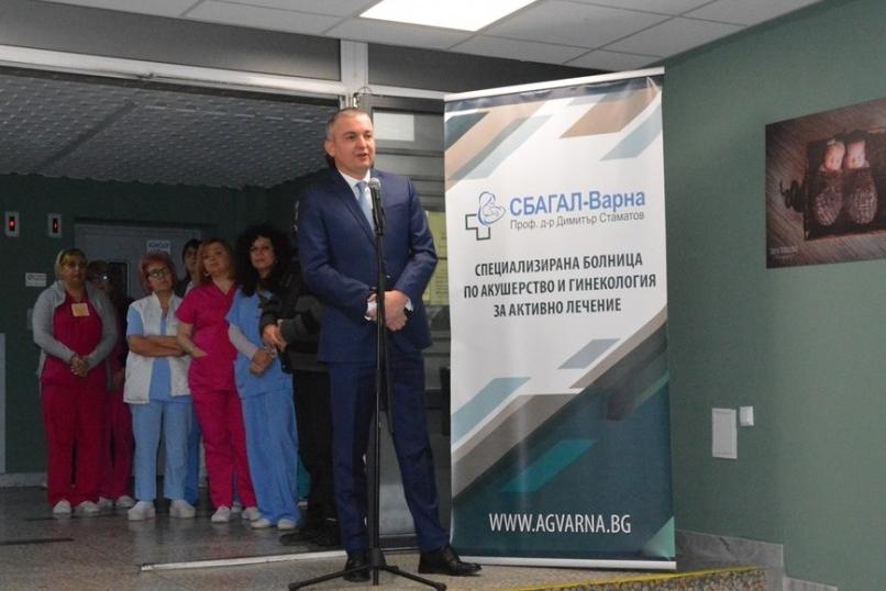 Иван Портних поздрави медицински работници по повод Деня на родилната помощ