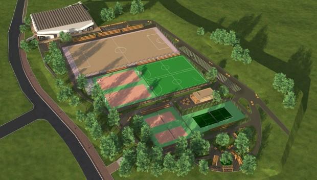 Най-модерният спортен комплекс във във Варна ще бъде готов до края на годината