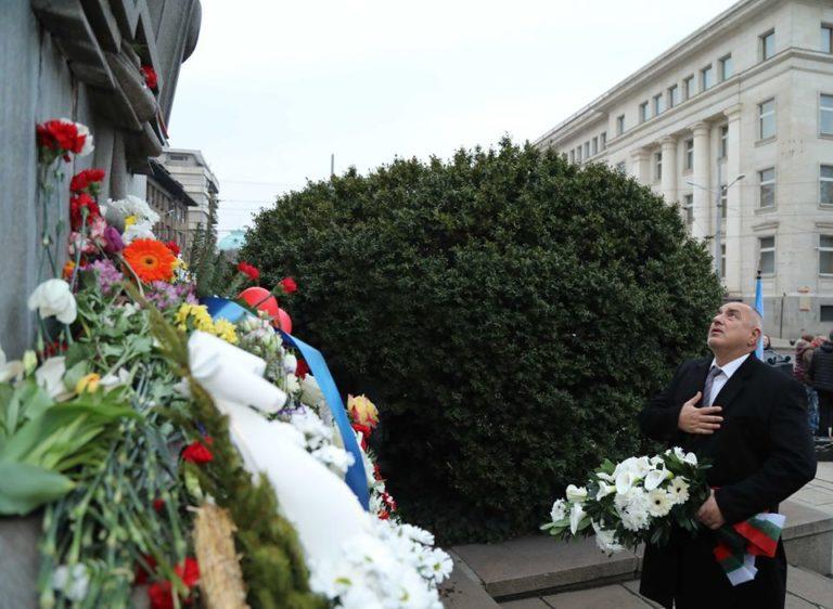 Борисов: Васил Левски винаги ще бъде символ на България
