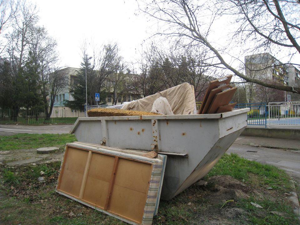 Два пъти седмично извозват едрогабаритни отпадъци във Варна