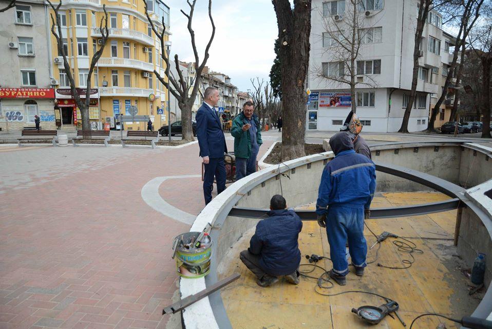 Портних за ремонта на ремонта по ул. Михаил Колони: Ще ги върна и четвърти път, ако е необходимо!