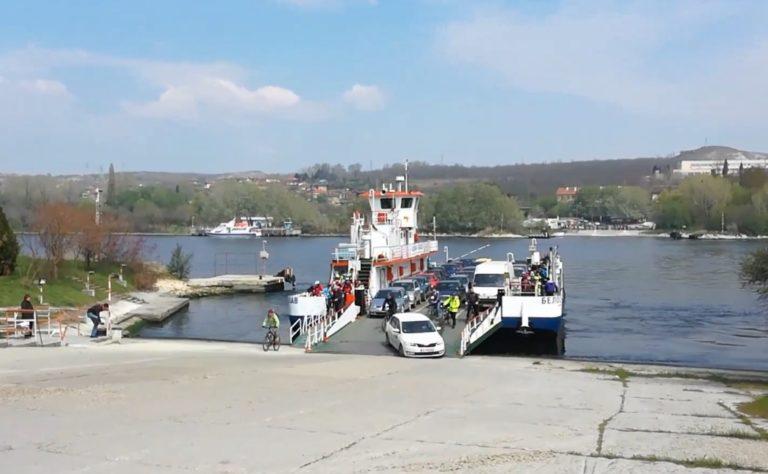 Фериботът в Белослав с разредено разписание заради силния вятър