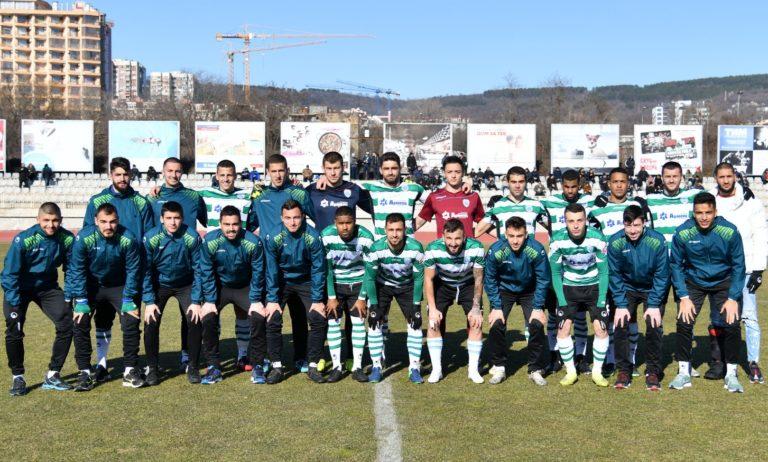 Черно море представи отбора за пролетта с 50% юноши