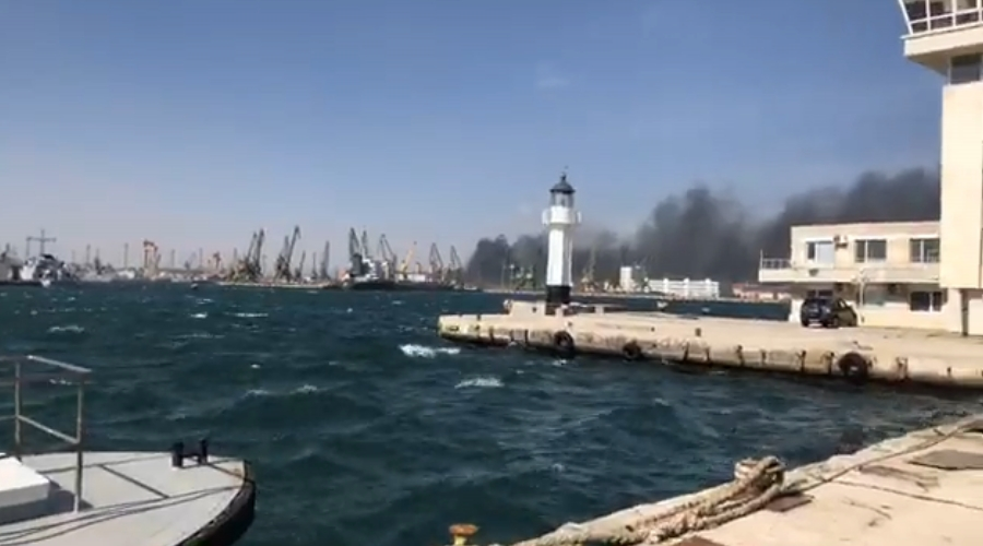 Голям пожар на ул. Девня