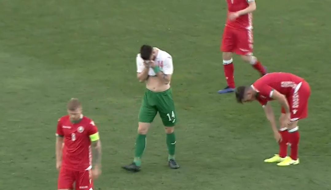 Видео: България загуби от Беларус с 0-1