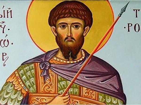 Свети Теодор Тирон – воинът на вярата