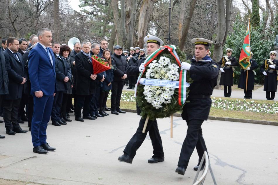 Варна почете паметта на Апостола