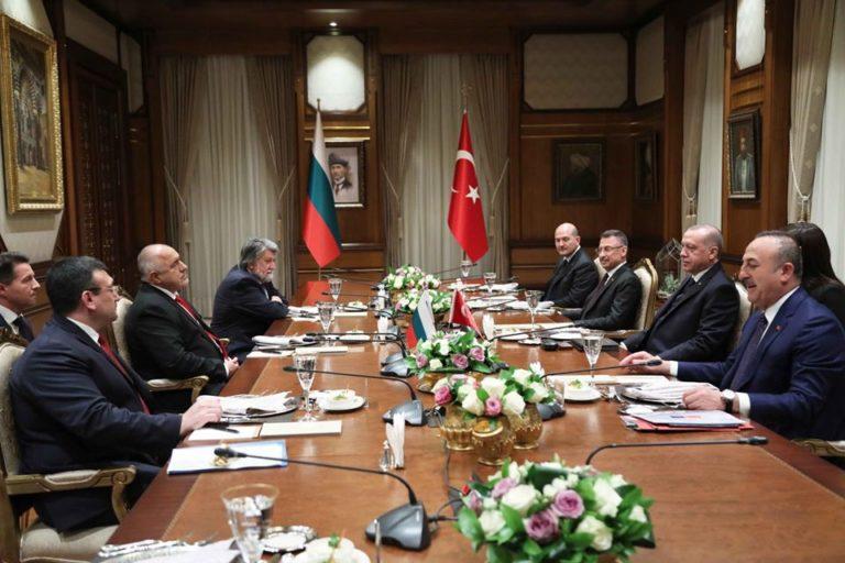 Бойко Борисов и Ердоган се срещнаха в Анкара
