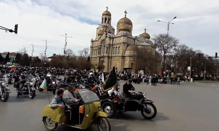 """Видео: Над 300 моториста се включиха в мото шествието """"В името на България"""""""