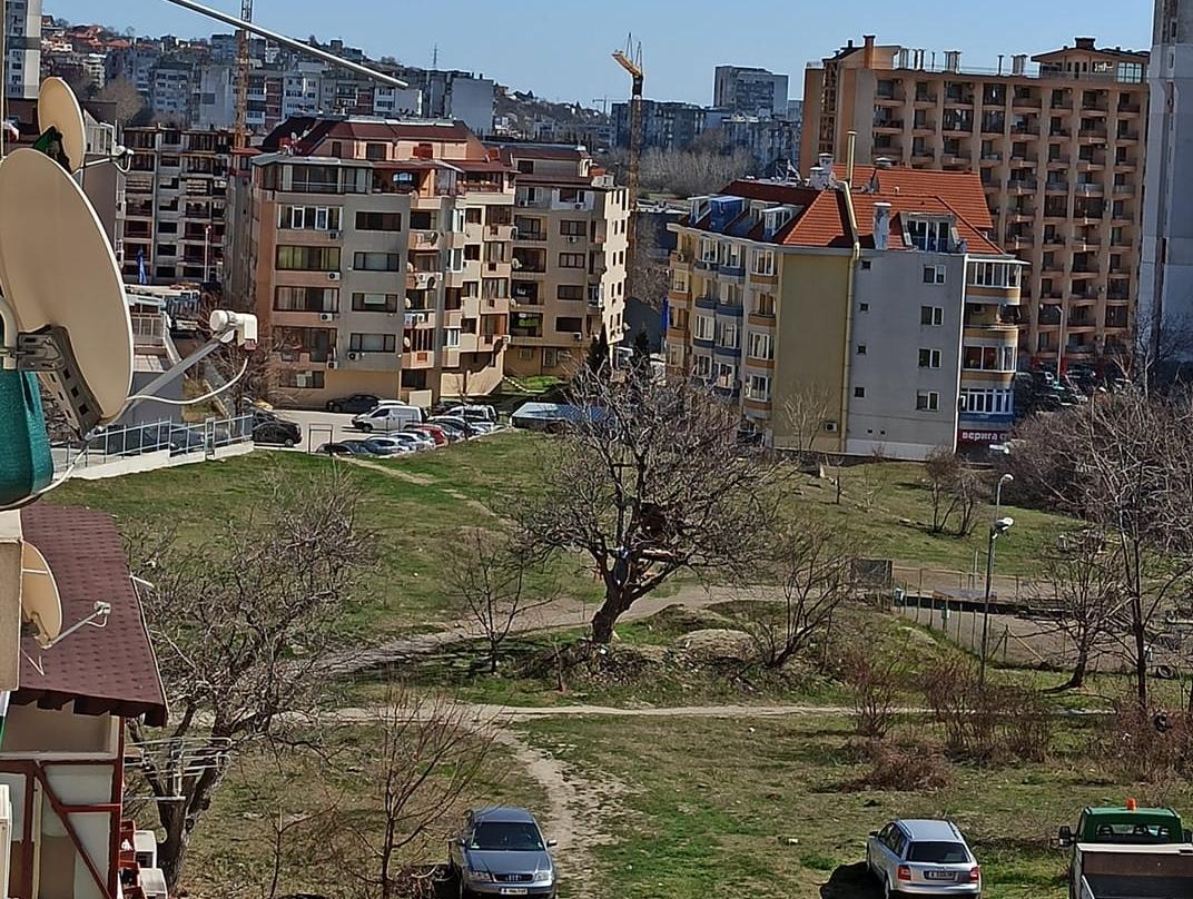 Жители на Възраждане се събраха и изчистиха поляна в квартала