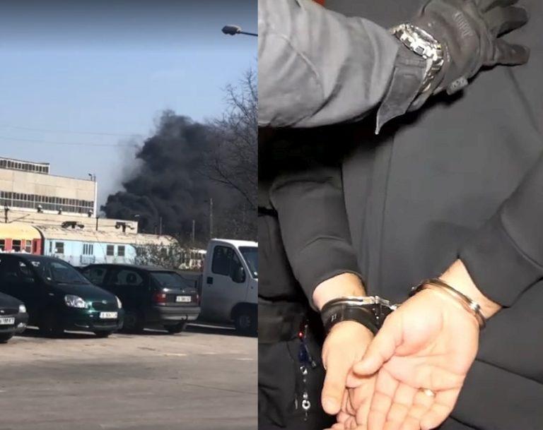 Задържаха 36-годишен мъж за големия пожар преди дни във Варна