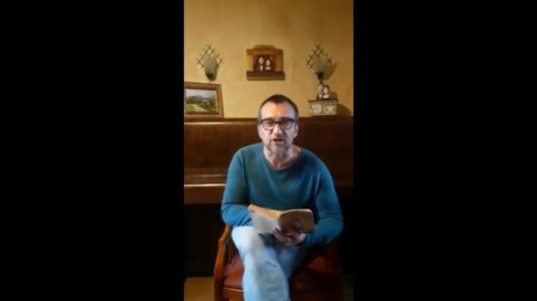 """Видео: """"Театърът чете от вкъщи"""" стартира за повдигане на духа по време на пандемията"""