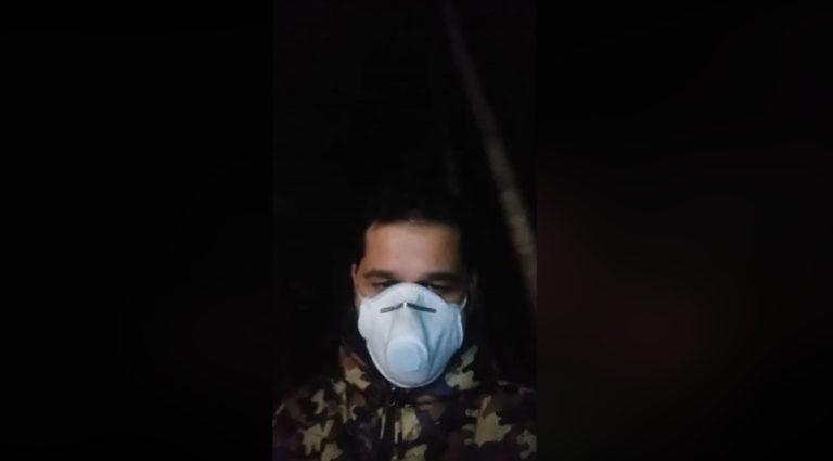 Видео: Мъж, със съмнения за коронавирус, показа колко неподготвена е България