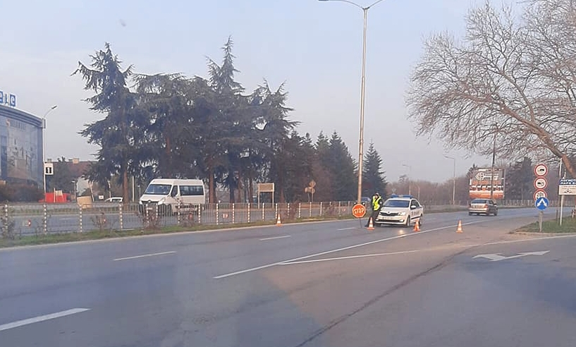 КПП-та на всички входове и изходи на Варна