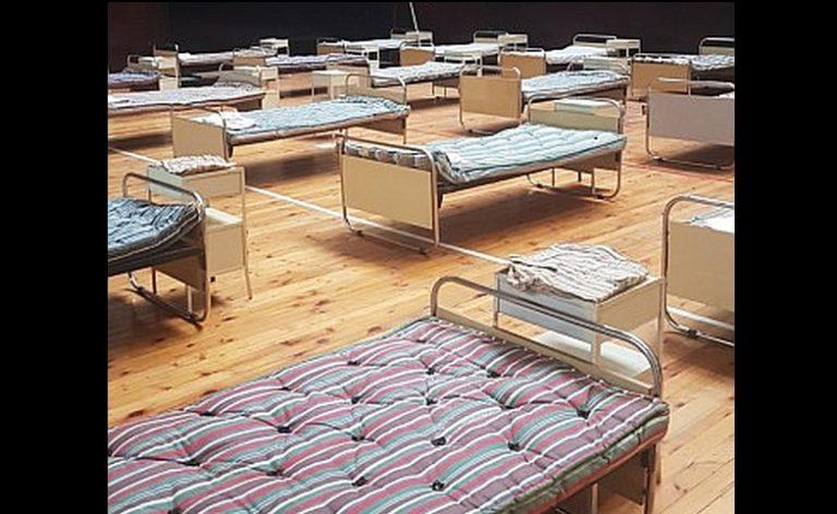 Спортни зали във Варна и Русе стават полеви болници