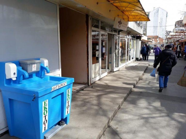 Поставиха 20 мобилни чешми за дезинфекция във Варна