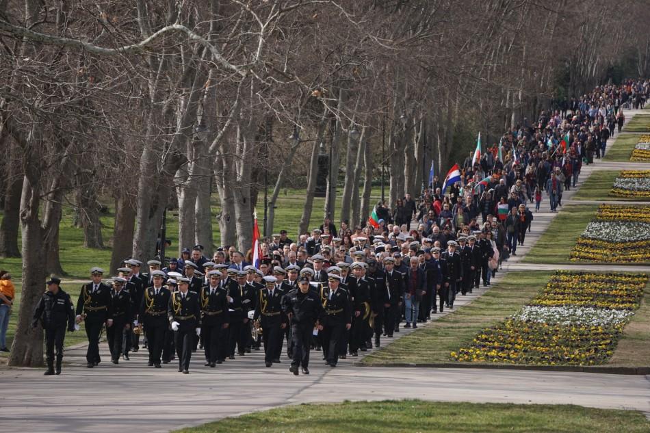 Снимки: Варна чества 142 г. от Освобождението на България