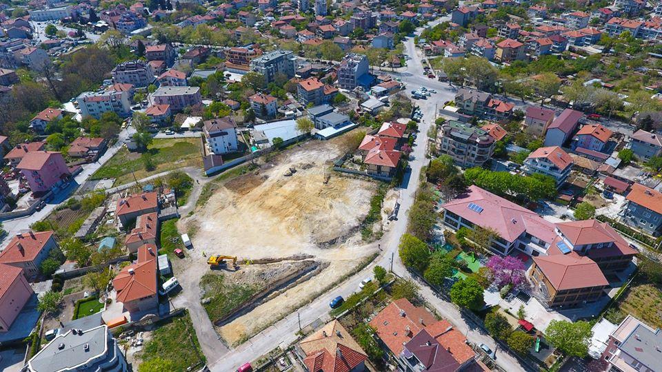 Продължава изграждането на новия комплекс за спорт и отдих във Виница