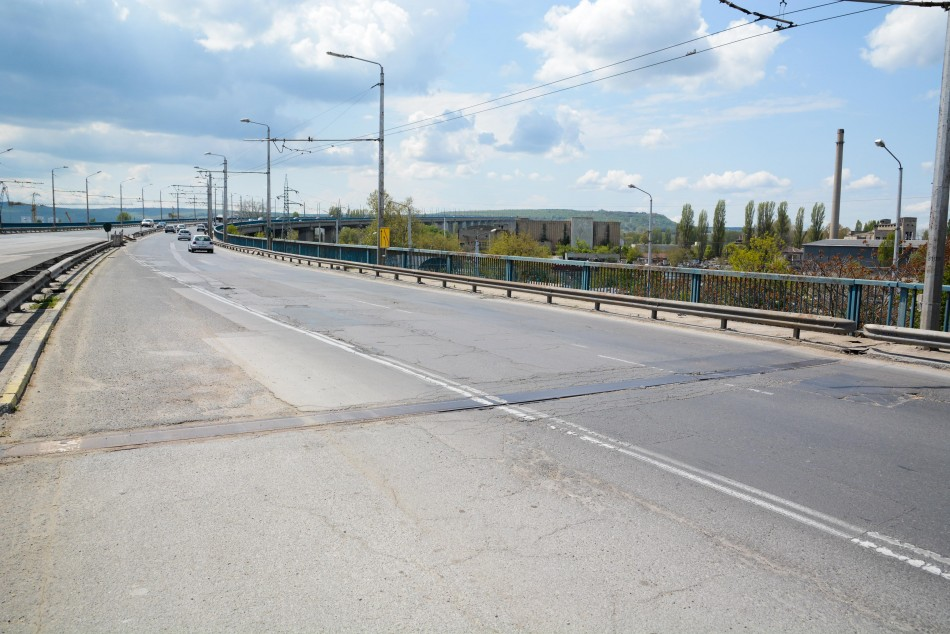 Започва следващият етап от ремонта на Аспаруховия мост във Варна
