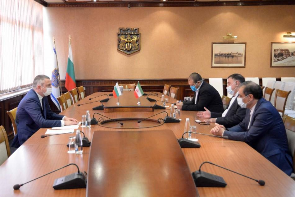 Посланикът на Иран бе на официално посещение във Варна