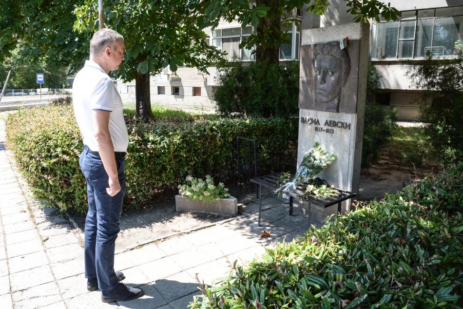 Варна отбеляза 183 години от рождението на Васил Левски
