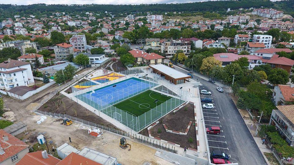 Виница вече има почти готов нов комплекс за спорт и отдих