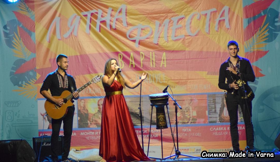 Лятната Фиеста за празника на Варна започна в ж.к. Възраждане