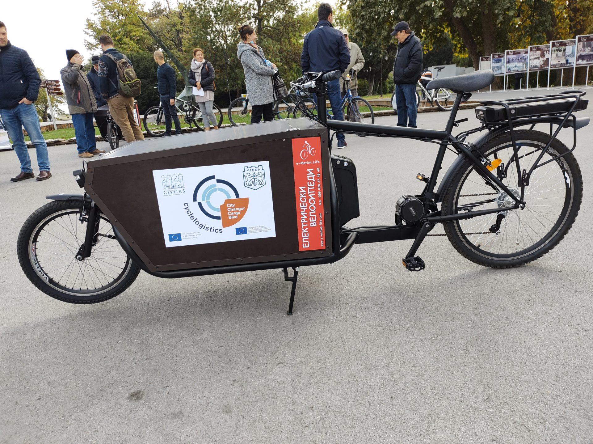 Община Варна предоставя 6 безплатни товарни велосипеда