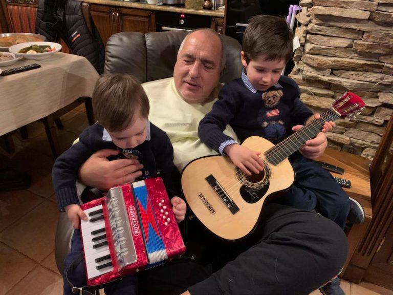 Борисов: Няма по-хубаво от времето със семейството