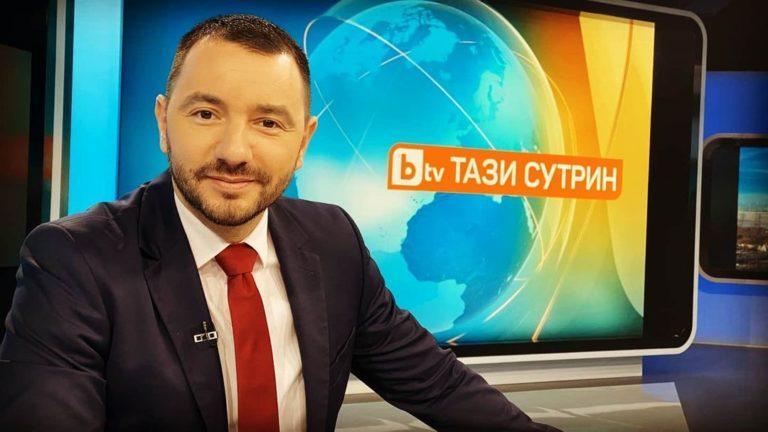 Антон Хикимян става шеф на новините в bTV