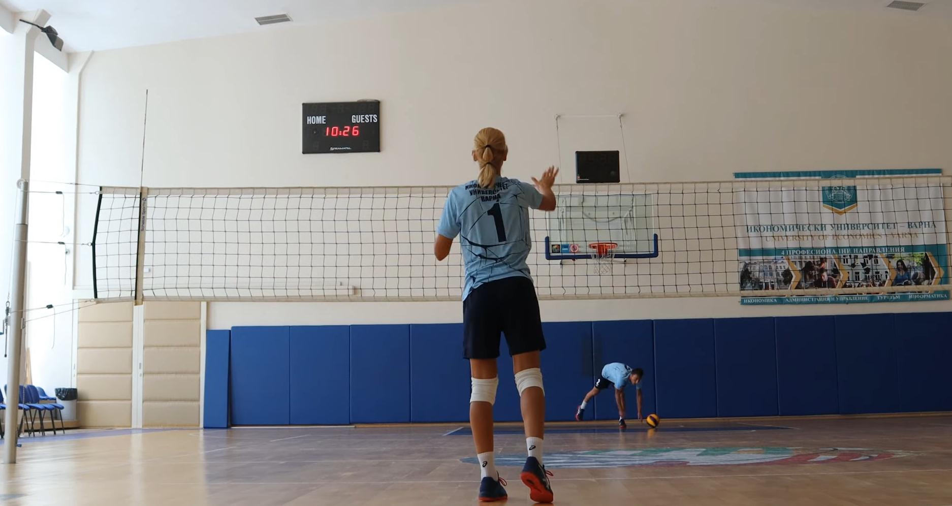 Готово е новото видео за онлайн тренировка по волейбол