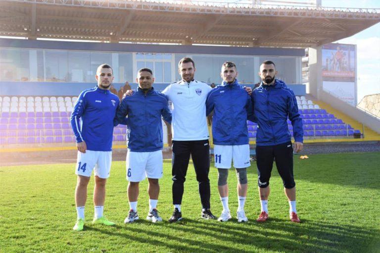 Спартак Вн стартира подготовка с четирима нови