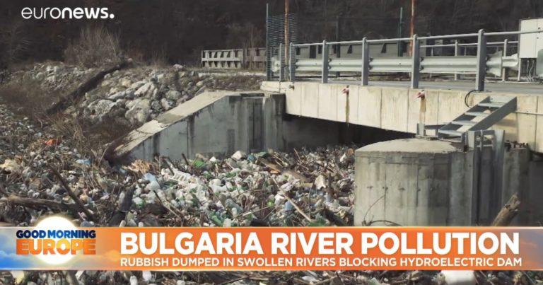 Видео: Euronews излъчи репортаж за замърсяването на река Искър край Своге