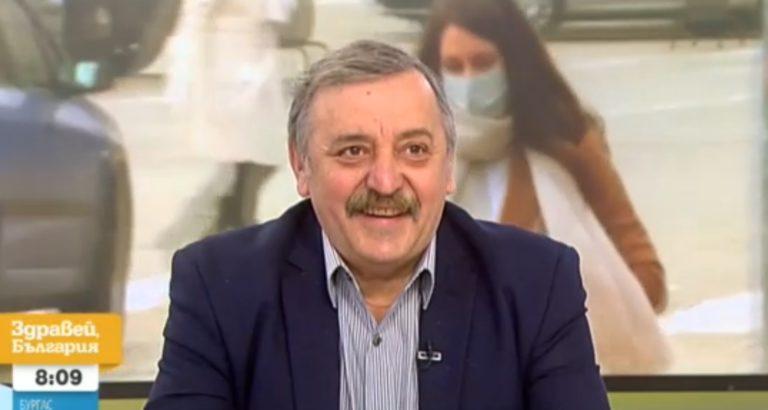 Кантарджиев: В най-добрия сценарий до август ще имаме 1,5 милиона ваксинирани (видео)