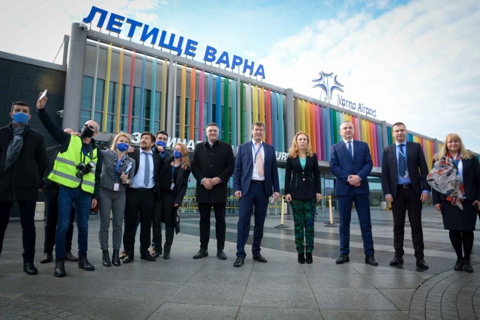 Летище Варна води класация на Фрапорт по въведени предпазни мерки за пътниците
