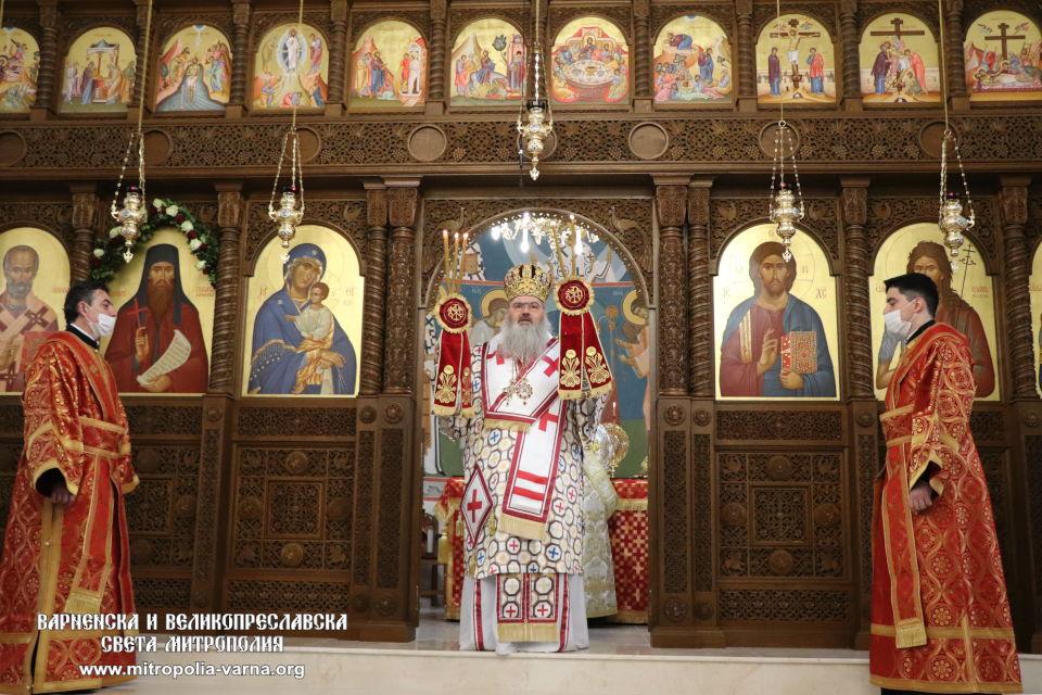 Митрополит Йоан изрази своята молитвена благодарност за получените поздравления по повод личния му празник