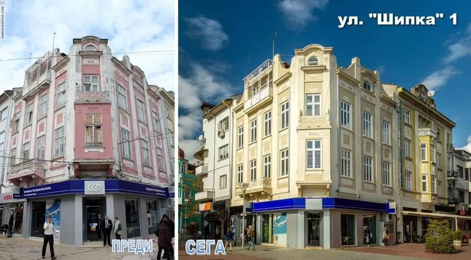 Продължава обновяването на седем сгради във Варна