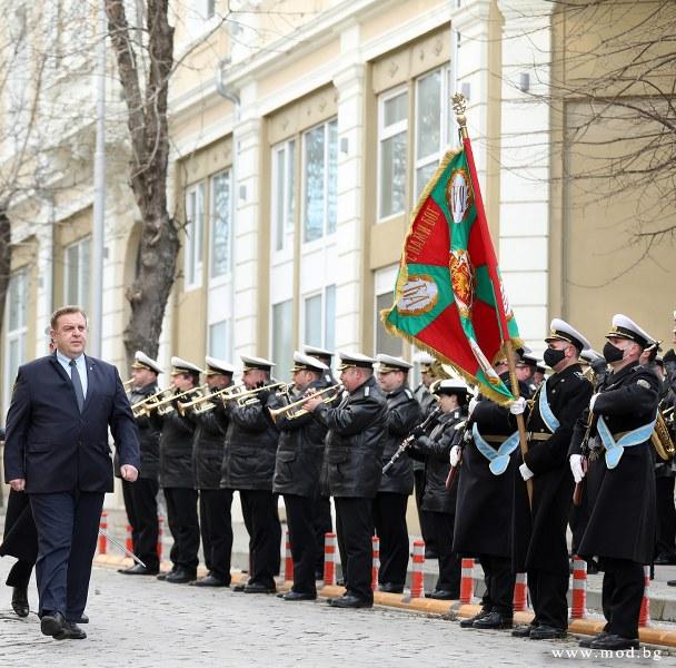 Красимир Каракачанов: За пръв път от повече от 100 години целево се изработват кораби за българския военноморски флот – ВМРО