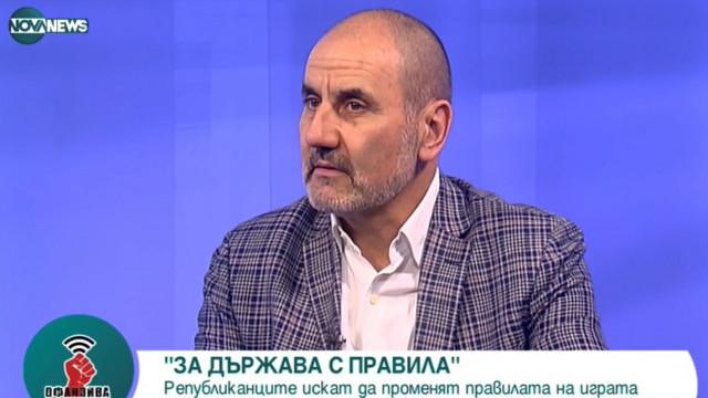 Цветан Цветанов: Целта на Републиканци за България е да бъде в тройката на предстоящите избори