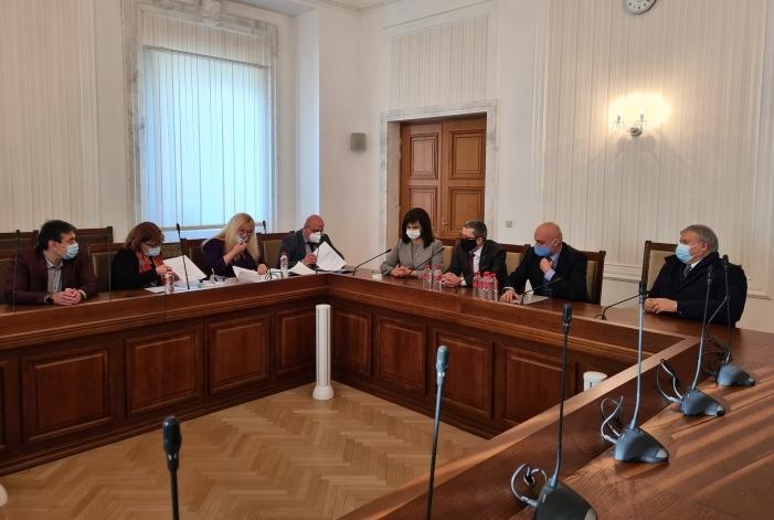 ГЕРБ и СДС се регистрираха като коалиция за изборите на 4 април