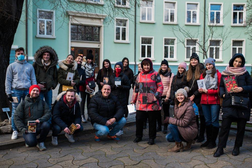"""ИУ – Варна посрещна новите си студенти по програма """"Еразъм+"""" за летния семестър"""